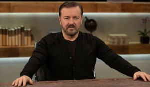 Ricky Gervais Takes The Stage With Another Tirade